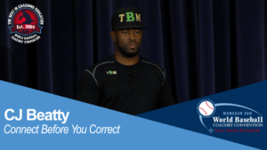 CJ Beatty - Connect Before You Correct