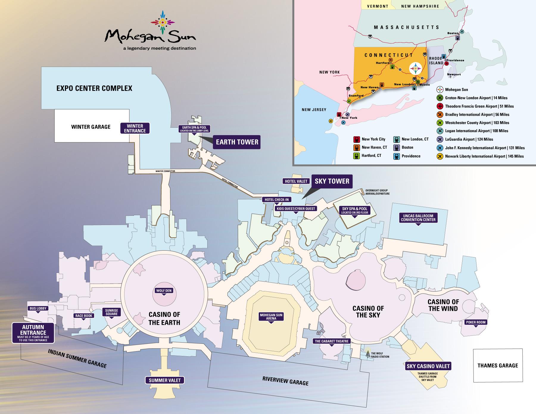 Mohegan-Sun-Expo-Center-and-General-Property-Map